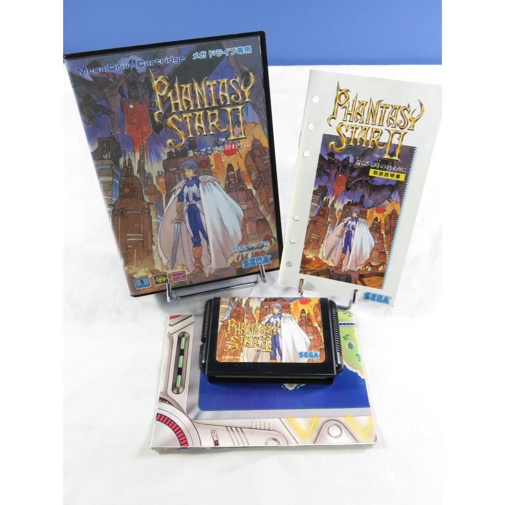 PHANTASY STAR II MEGADRIVE NTSC-JPN OCCASION
