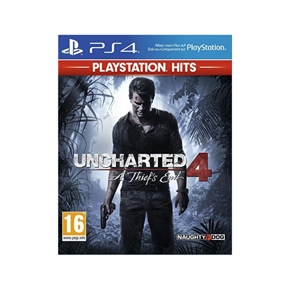 UNCHARTED 4 PLAYSTATION HITS PS4 EURO FR NEW