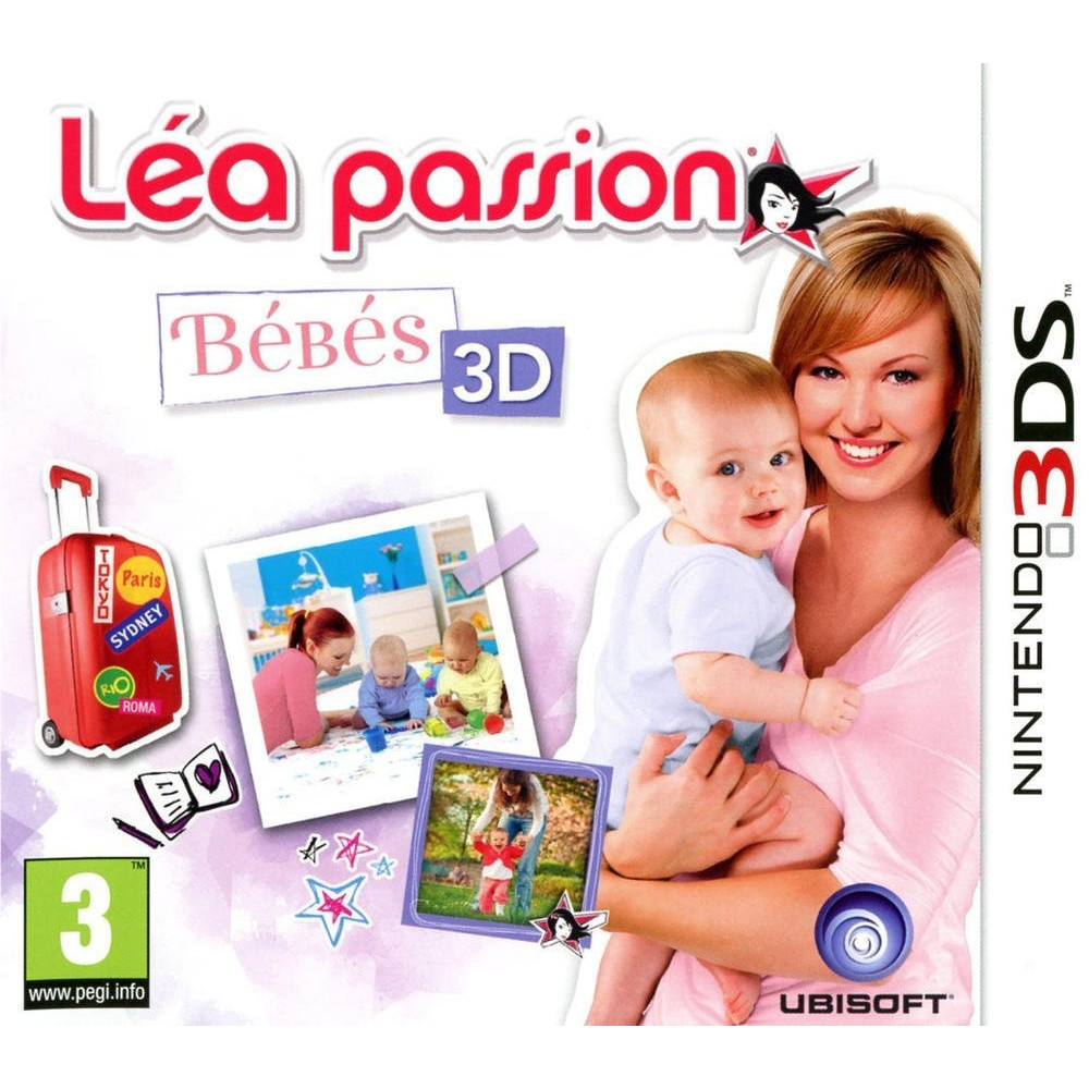 LEA PASSION BEBES 3DS FR OCCASION