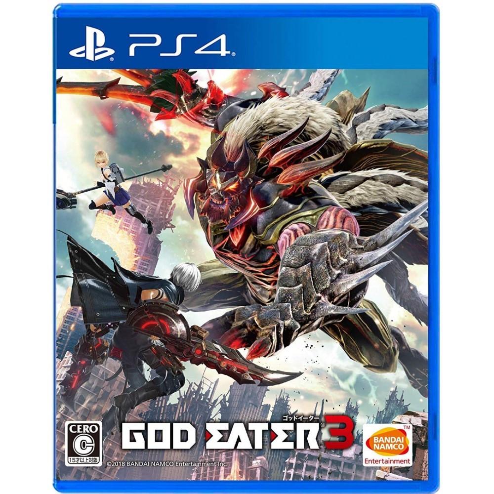 GOD EATER 3 PS4 JAP NEW