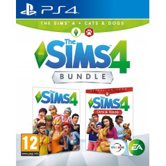 THE SIMS 4 + CAT+ DOGS PS4 UK NEW