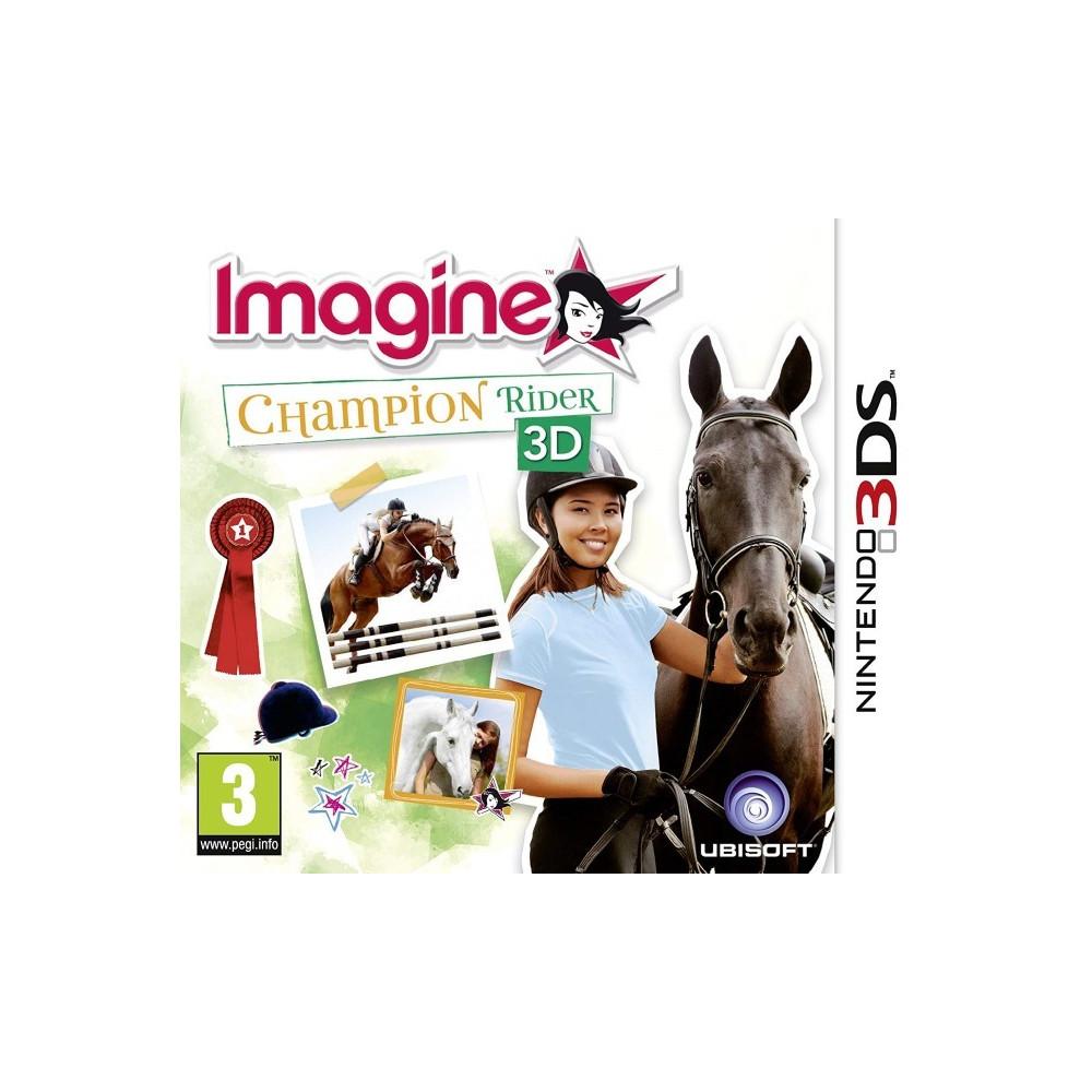 IMAGINE CHAMPION RIDER 3D 3DS UK OCCASION