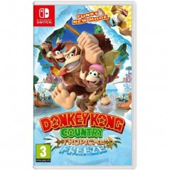 DONKEY KONG COUNTRY TROPICAL FREEZE SWITCH UK OCCASION