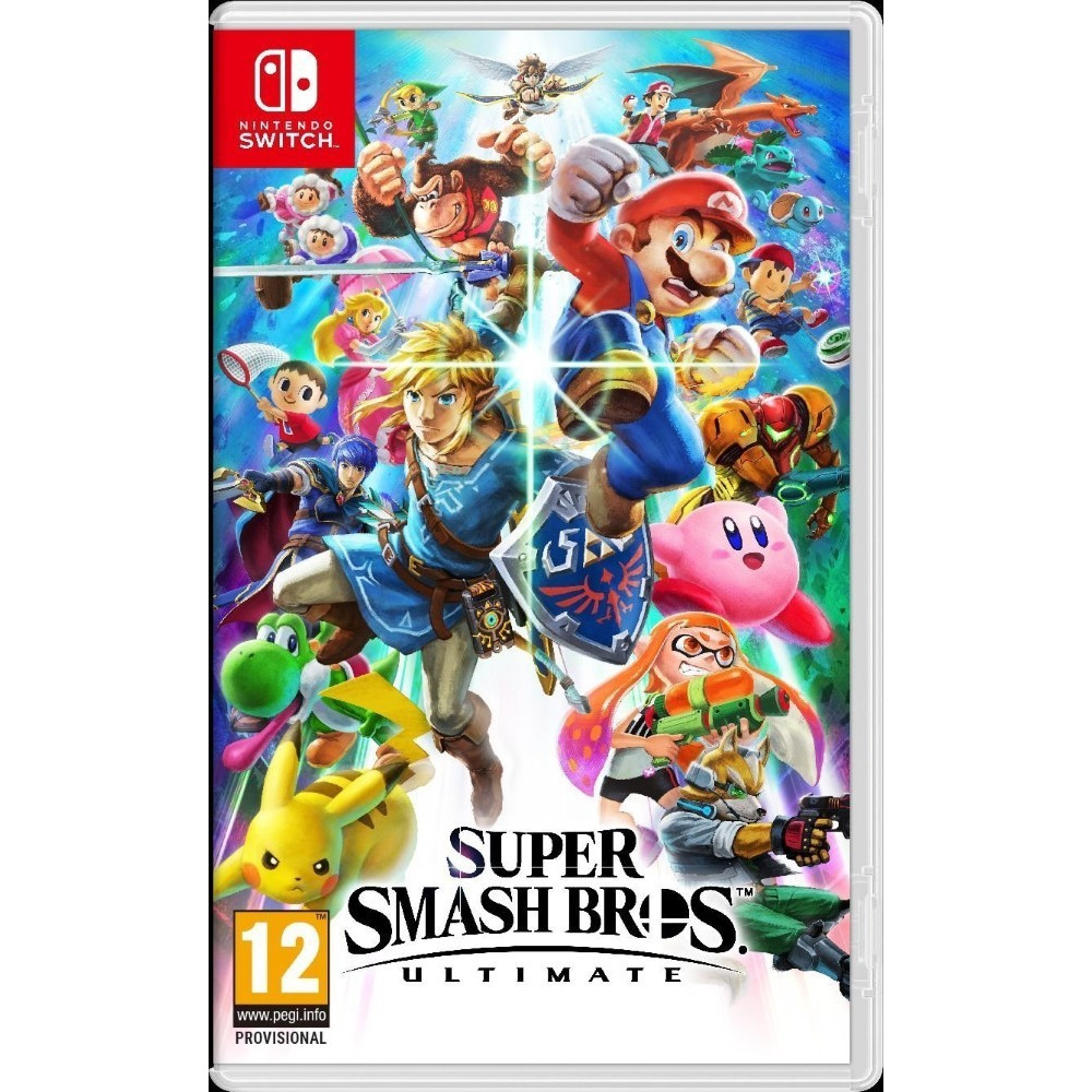 SUPER SMASH BROS ULTIMATE SWITCH FR OCCASION
