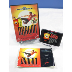 DRAGON THE BRUCE LEE STORY MEGADRIVE PAL-EURO OCCASION