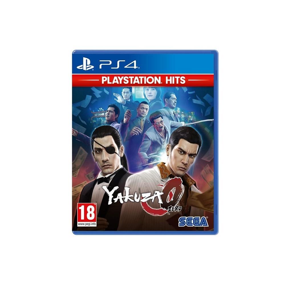 YAKUZA 0 PLAYSTATION HITS PS4 UK NEW
