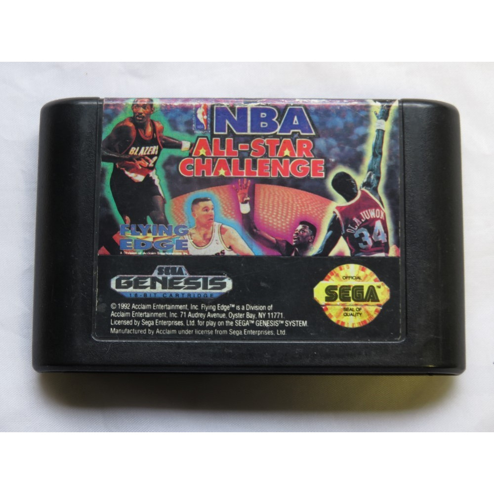 NBA ALL-STAR CHALLENGE GENESIS NTSC-USA LOOSE