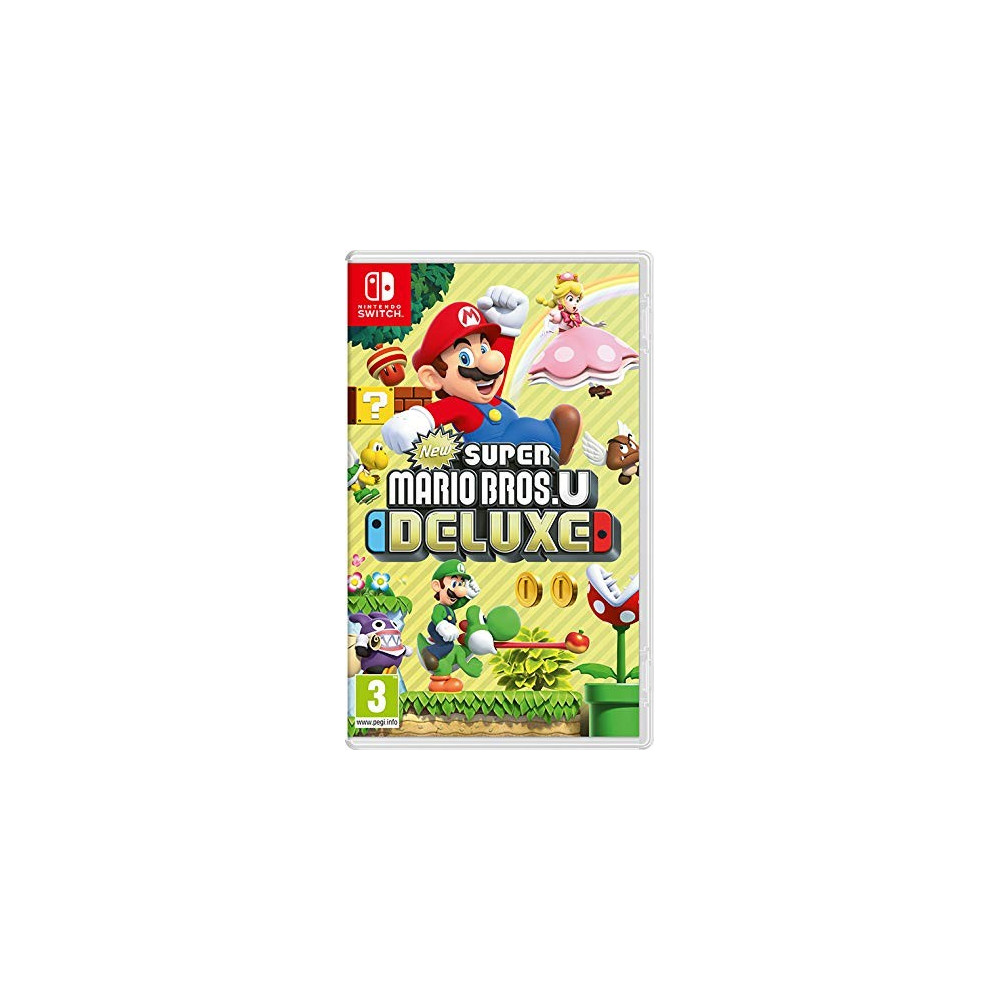 NEW SUPER MARIO BROS U DELUXE EDITION SWITCH FR NEW