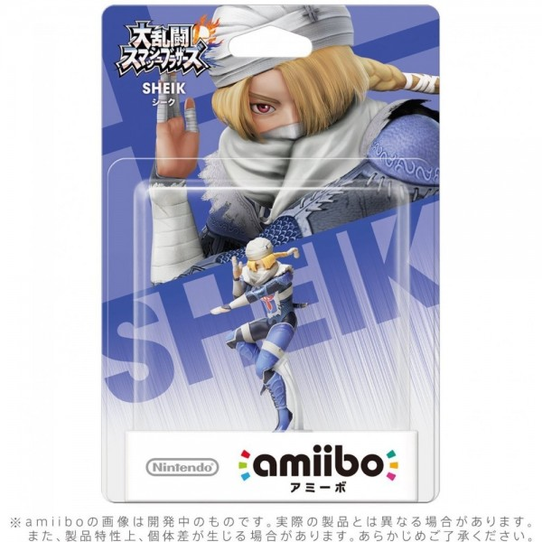 AMIIBO SUPER SMASH BROS SHEIK JAP NEW