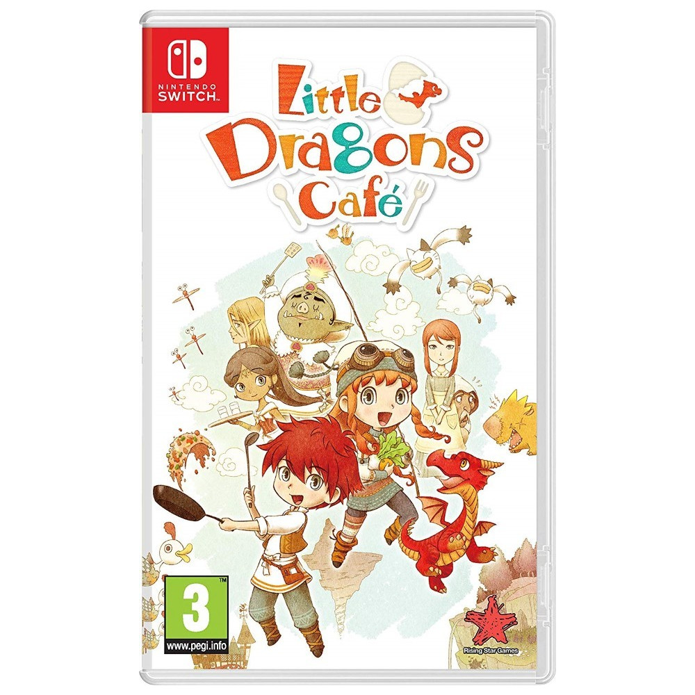 LITTLE DRAGONS CAFE SWITCH FR NEW
