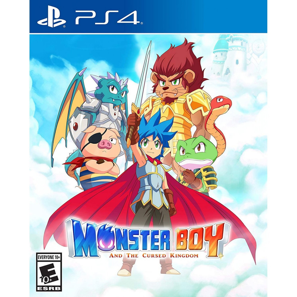 MONSTER BOY AND THE CURSED KINGDOM PS4 US OCCASION