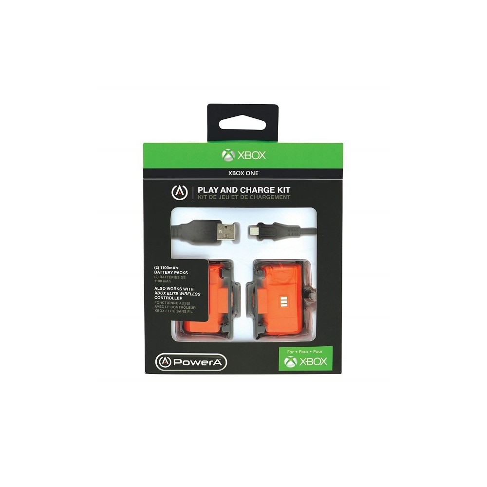 PLAY AND CHARGE POWER A XBOX ONE EURO NEW