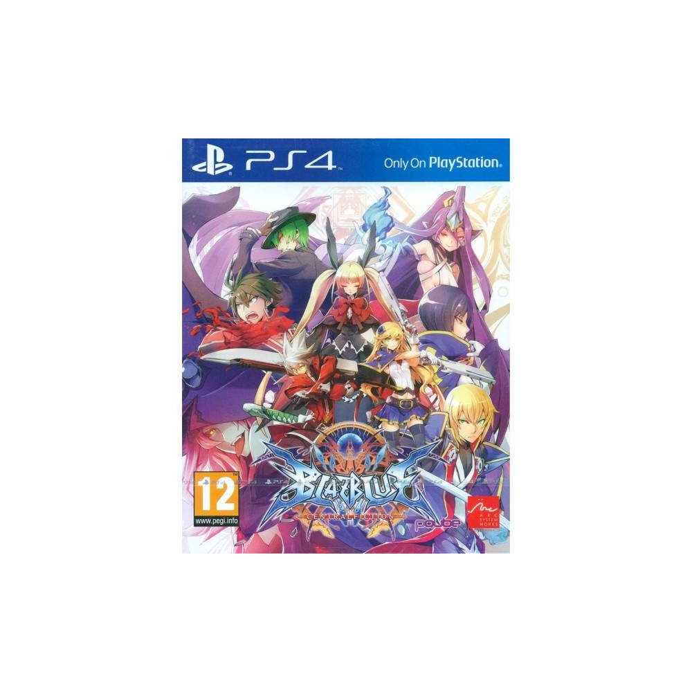 BLAZBLUE CENTRAFICTION PS4 EURO OCCASION