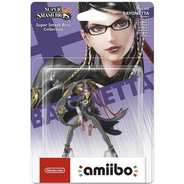 AMIIBO SUPER SMASH BROS BAYONETTA JOUEUR 2 EURO NEW