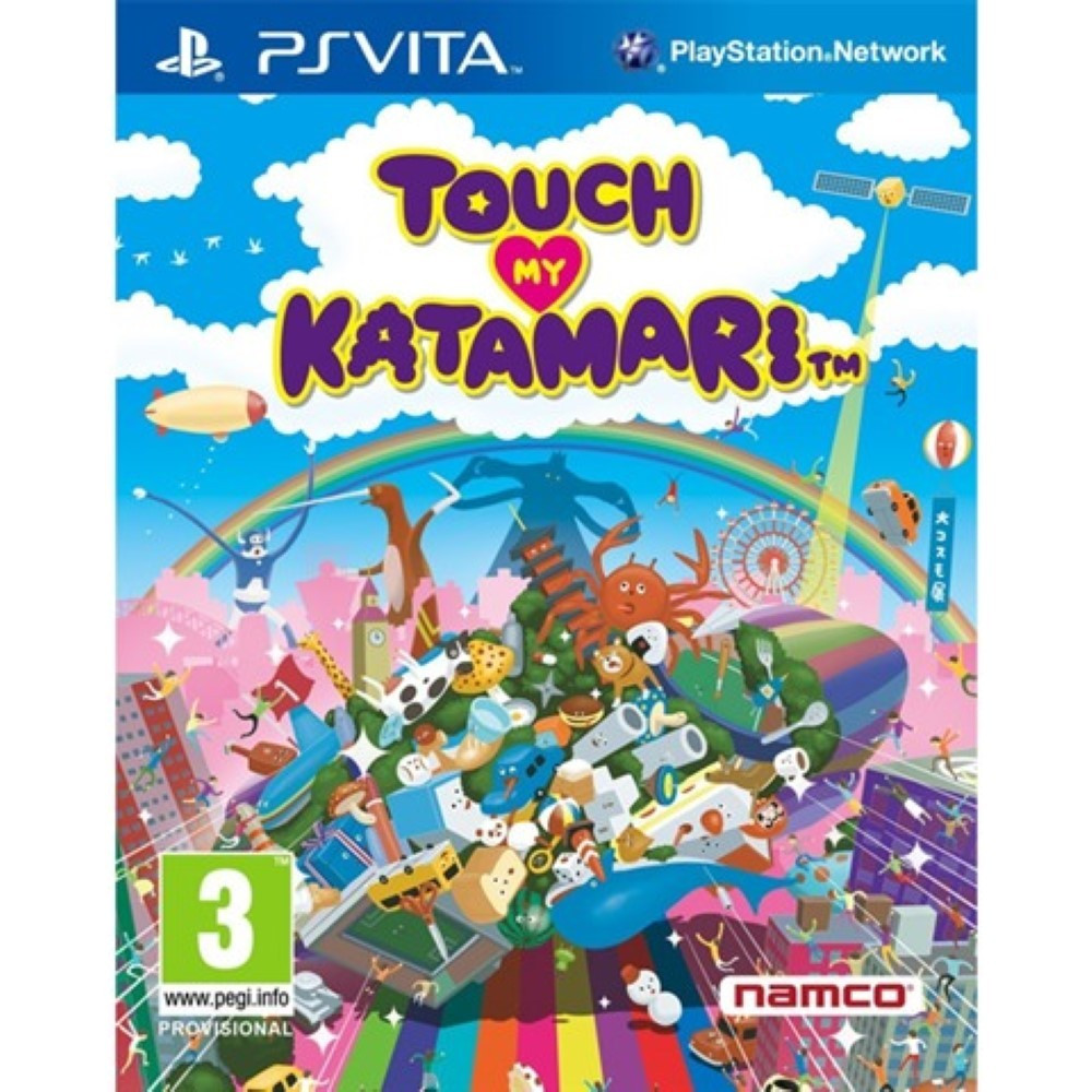 TOUCH MY KATAMARI PSVITA UK NEW