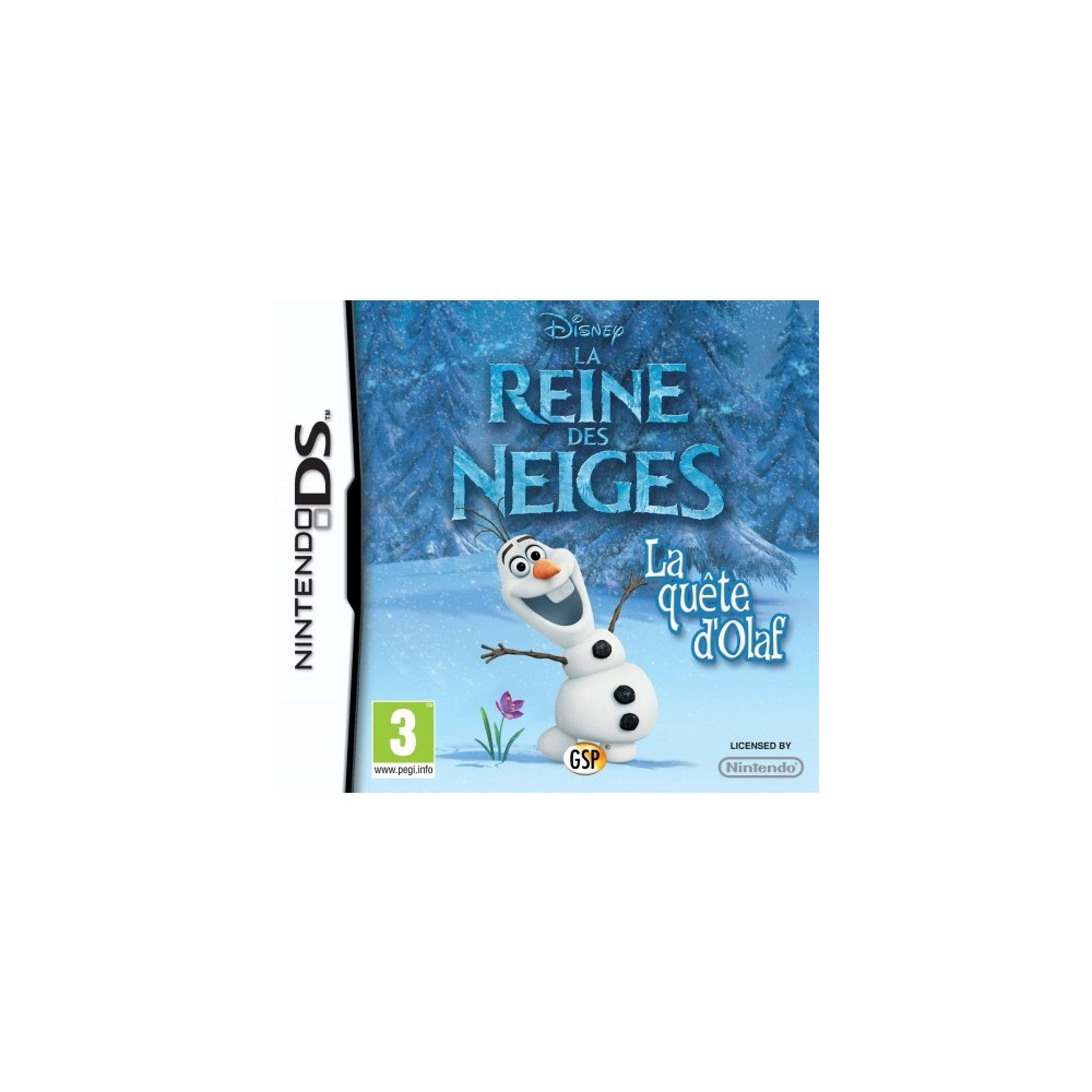 LA REINE DES NEIGES DS PAL FR NEW
