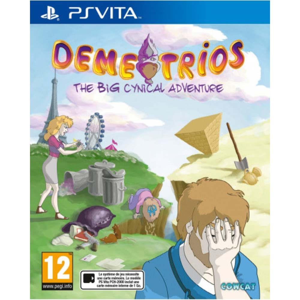 DEMETRIOS THE BIG CYNICAL ADVENTURE PSVITA FR NEW