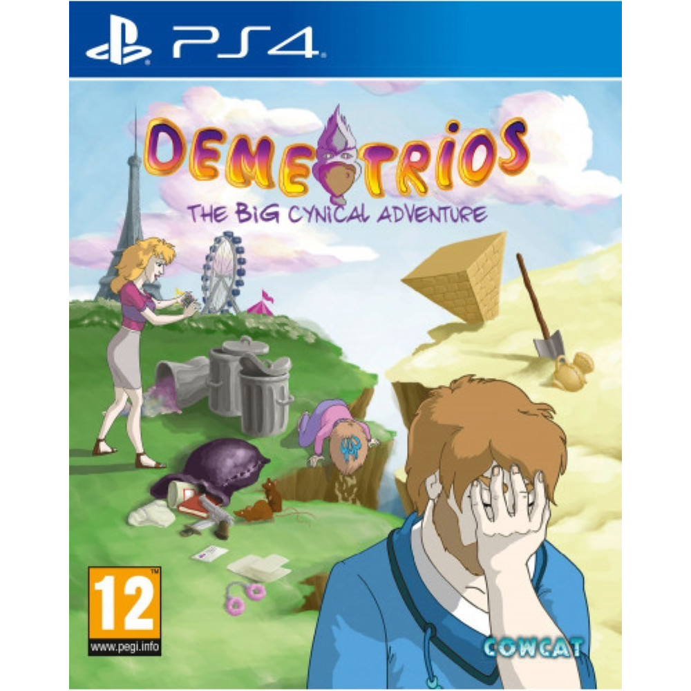 DEMETRIOS THE BIG CYNICAL ADVENTURE PS4 FR NEW
