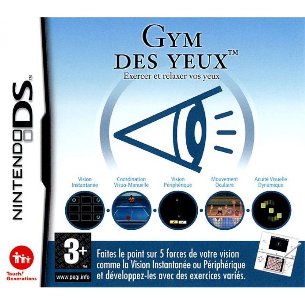 GYM DES YEUX: EXERCEZ ET RELAXEZ VOS YEUX NDS FR NEW