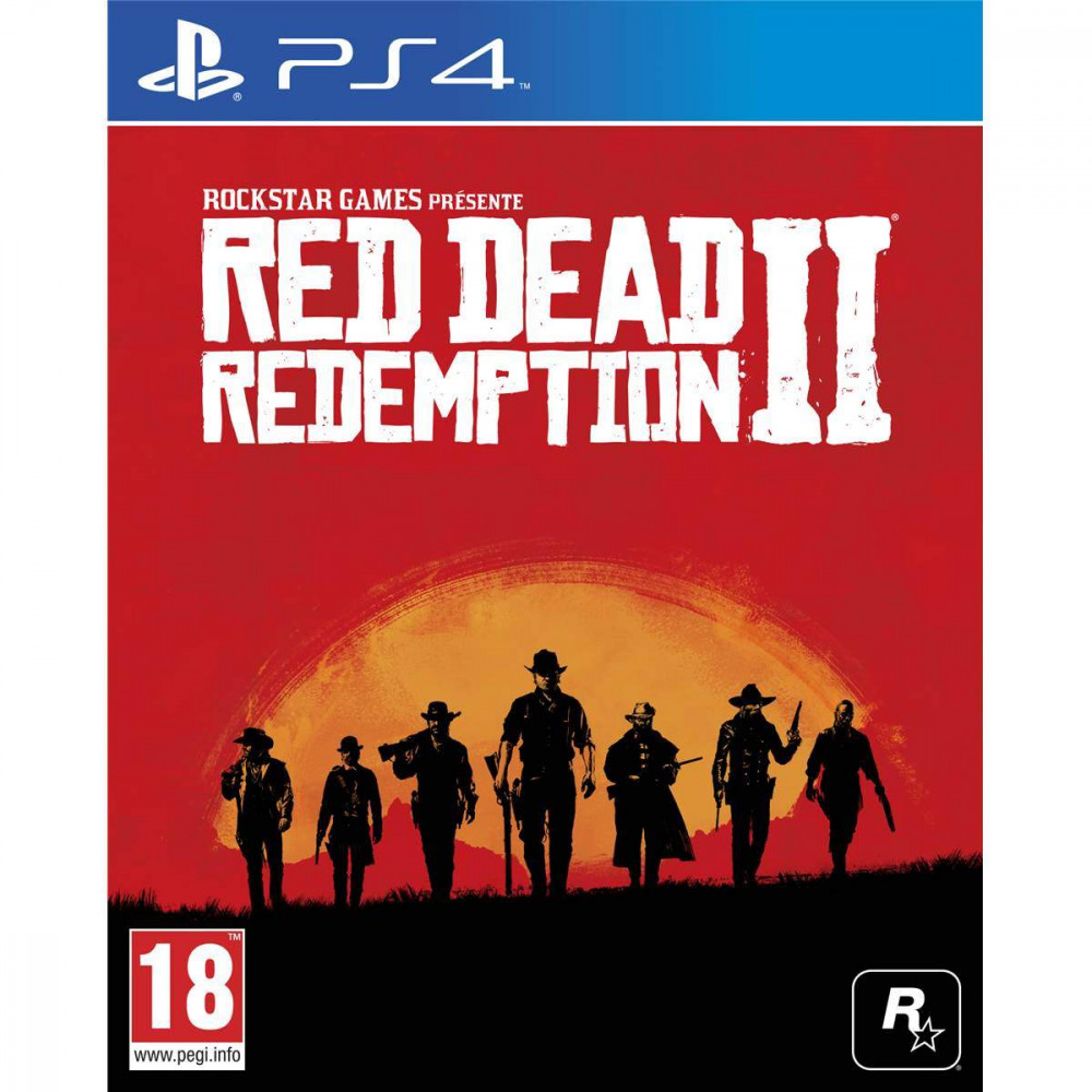 RED DEAD REDEMPTION 2 PS4 EURO HOLLANDAIS AVEC TEXTE EN FRANCAIS OCCASION