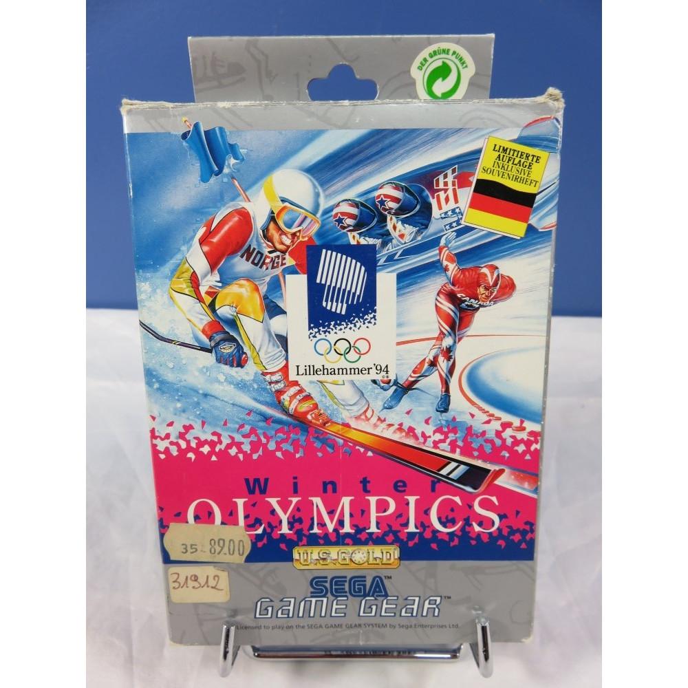 WINTER OLYMPICS GAMEGEAR DE OCCASION