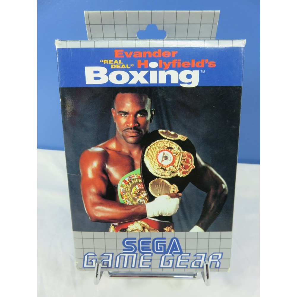 EVANDER HOLYFIELD S REAL DEAL BOXING GAME GEAR EURO OCCASION