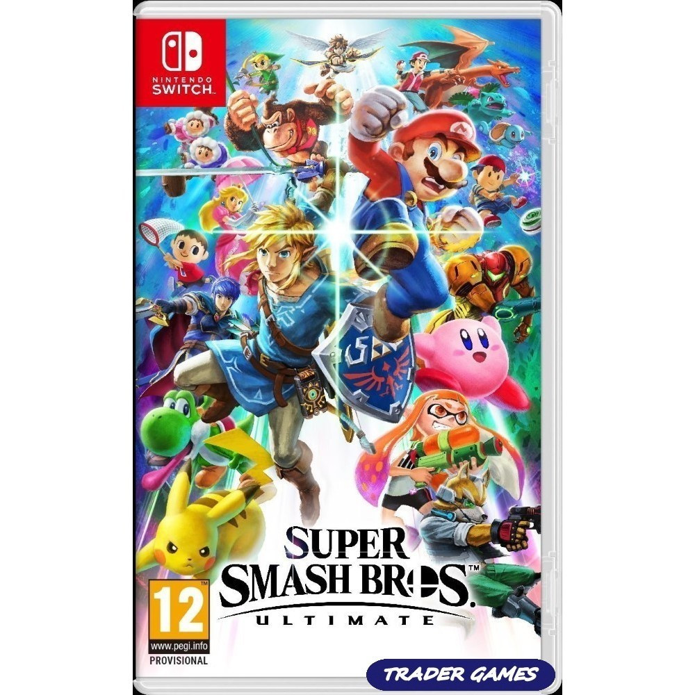 SUPER SMASH BROS ULTIMATE SWITCH UK OCCASION