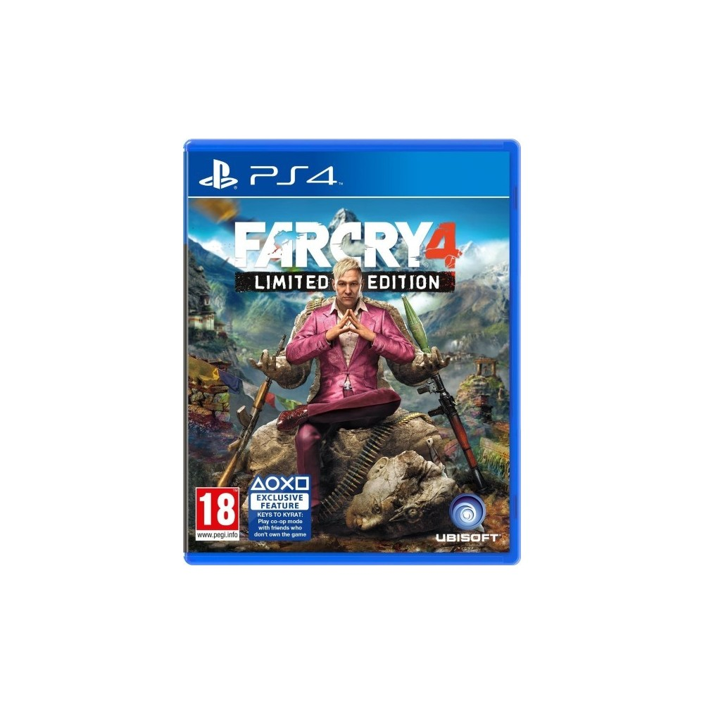 FARCRY 4 LIMITED EDITION PS4 UK OCCASION