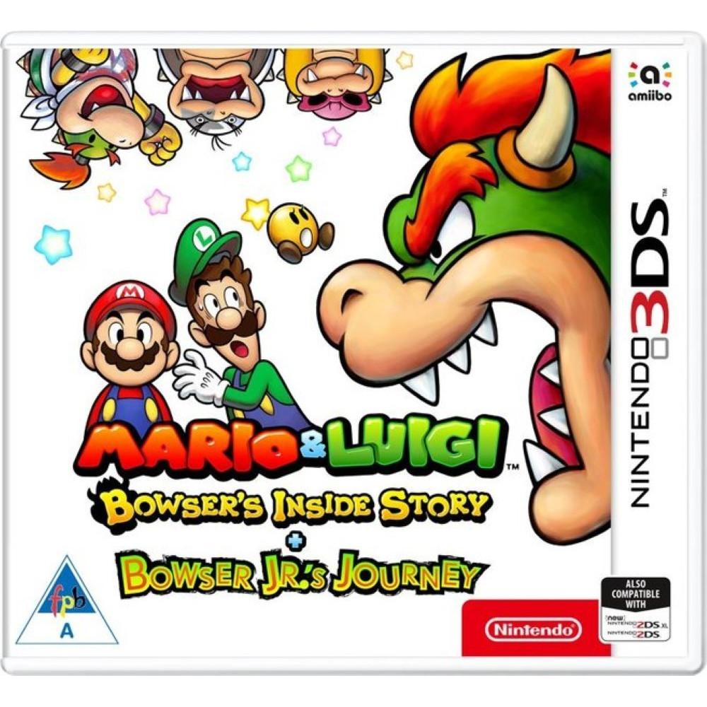 MARIO & LUIGI BOWSER S INSIDE STORY + BOWSER JRS JOURNEY 3DS UK NEW