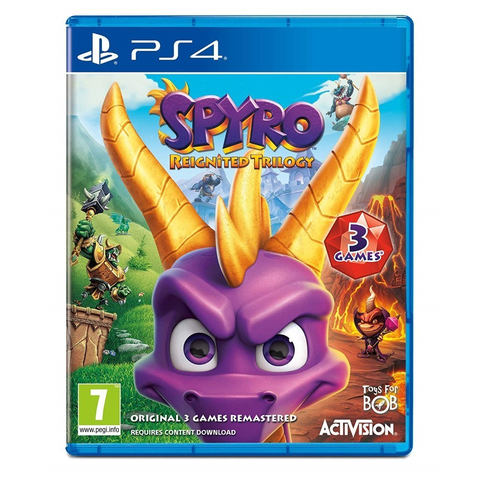 SPYRO REIGNITED TRILOGY PS4 UK OCCASION