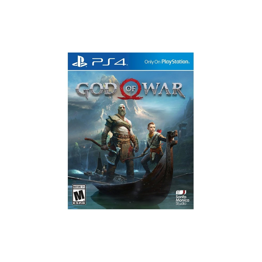 GOD OF WAR PS4 US OCCASION
