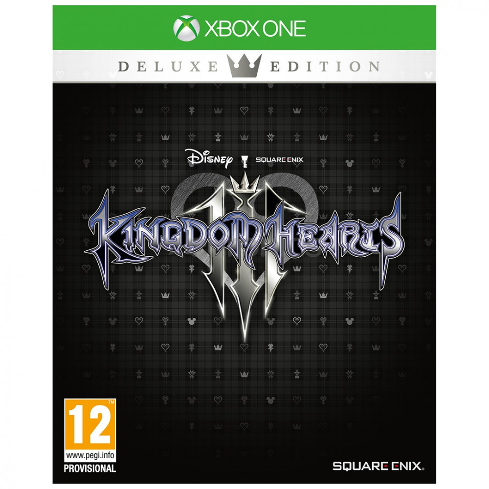 KINGDOM HEARTS 3 DELUXE EDITION XBOX ONE EURO FR NEW
