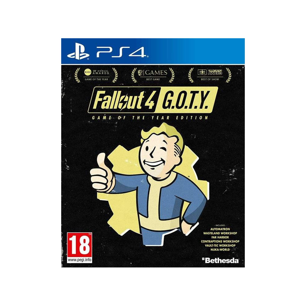 FALLOUT 4 GAME OF THE YEAR EDITION PS4 UK OCCASION