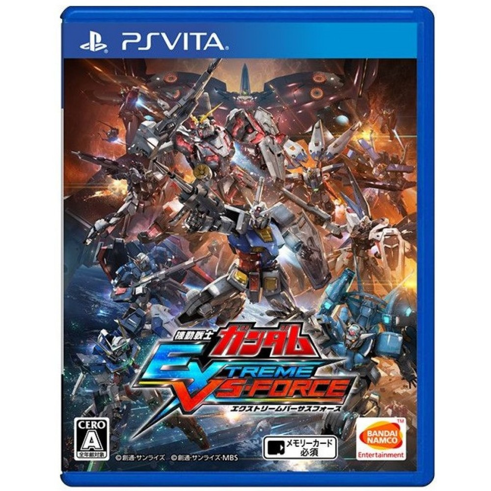 MOBILE SUIT GUNDAM EXTREME VS FORCE PSVITA JAP OCC