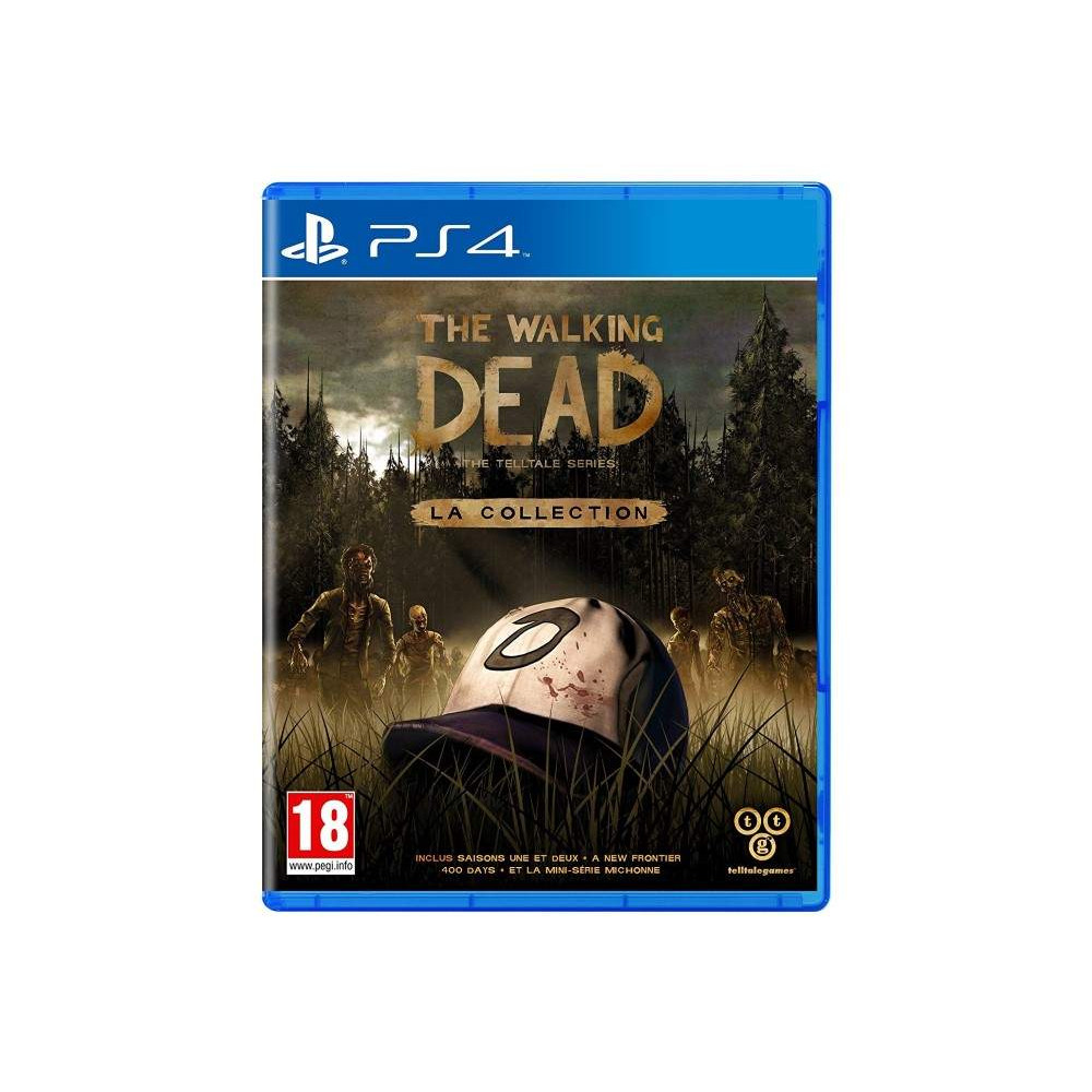 THE WALKING DEAD THE TELLTALE SERIES LA COLLECTION PS4 FR OCCASION