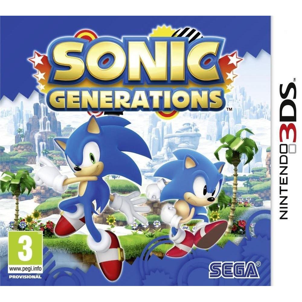 SONIC GENERATIONS 3DS UK NEW