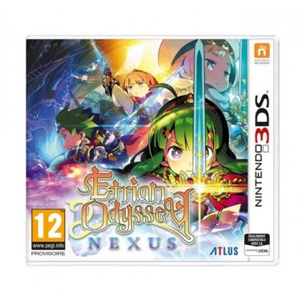 ETRIAN ODYSSEY NEXUS 3DS UK NEW