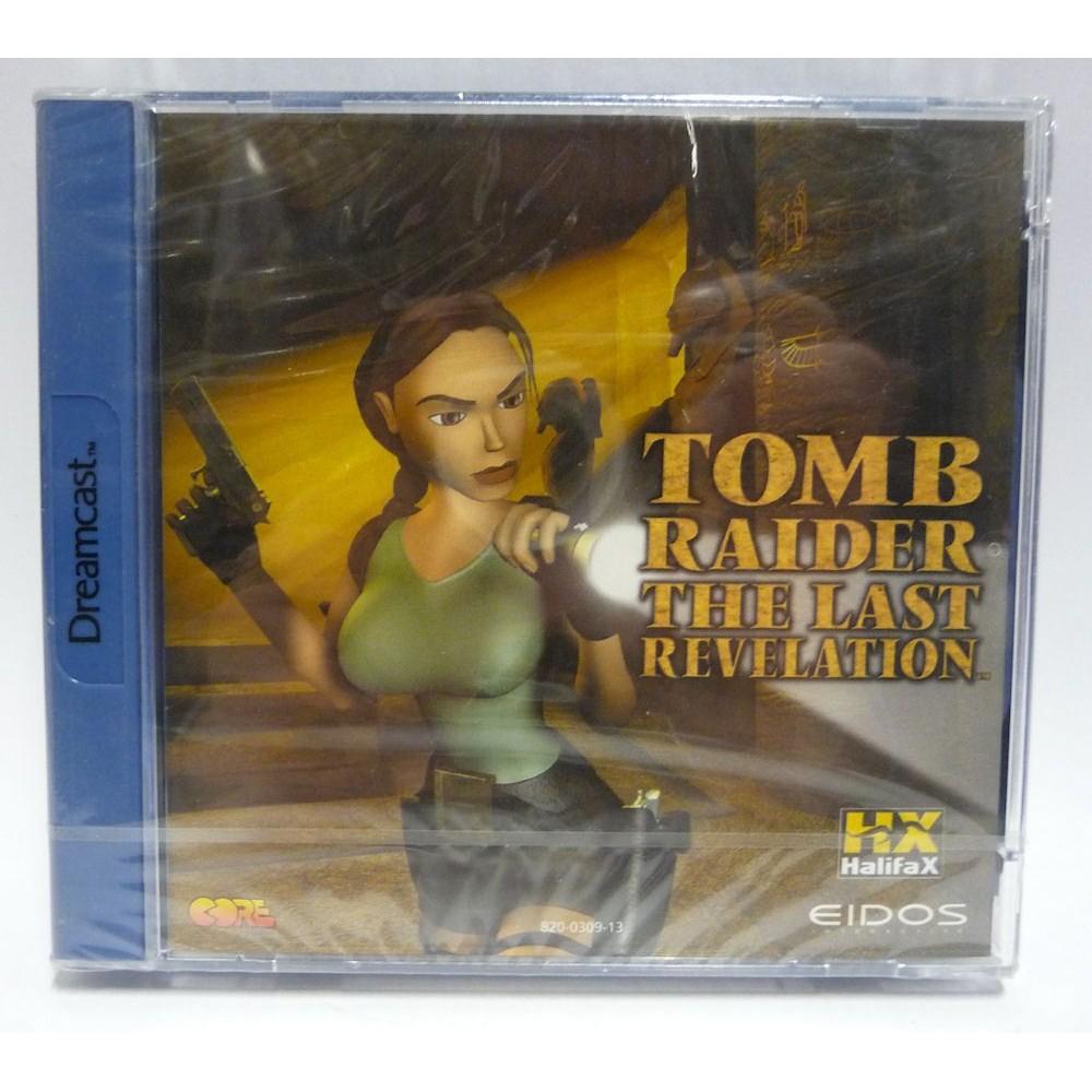 TOMB RAIDER THE LAST REVELATION DREAMCAST PAL-ITA NEW