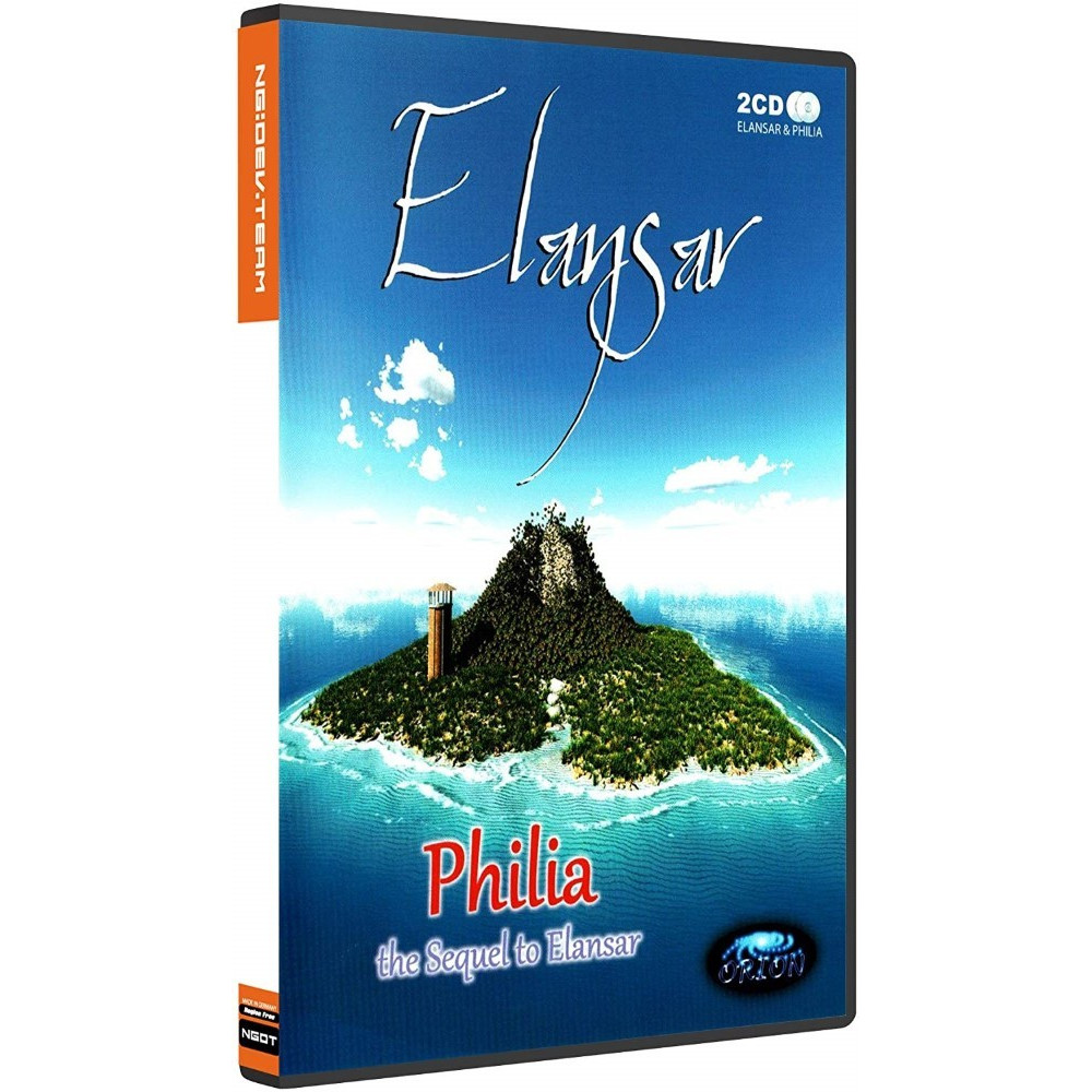 ELANSAR & PHILIA DREAMCAST PAL-EURO (REGION FREE) NEW