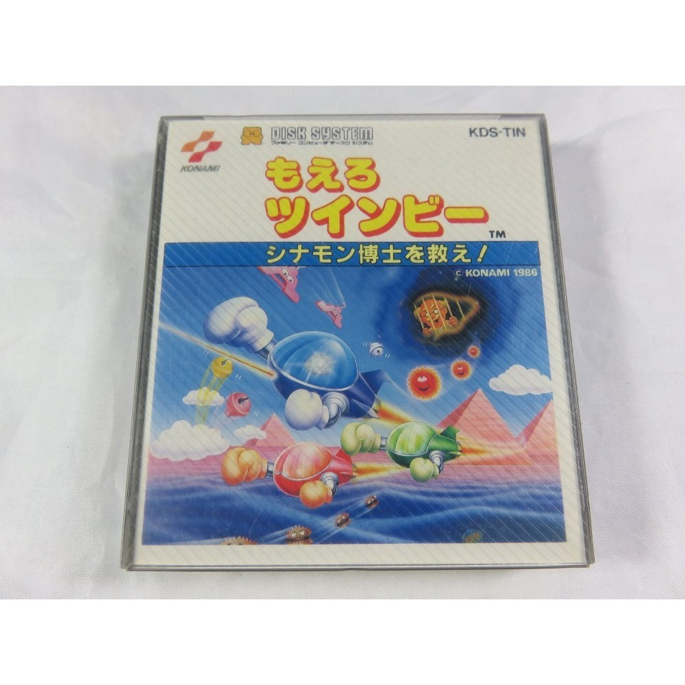MOERU TWINBEE FAMICOM DISK SYSTEM NTSC-JPN SEALED NEW