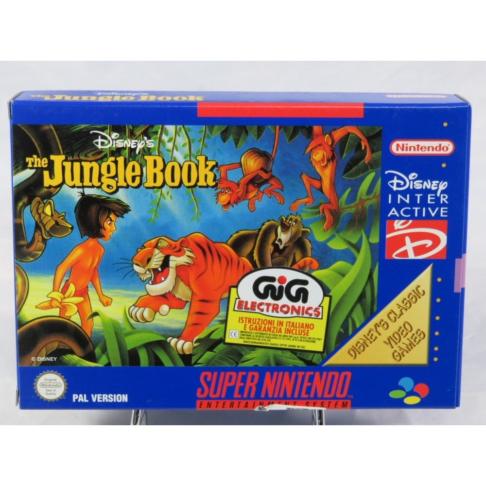THE JUNGLE BOOK SNES PAL-ITA NEW