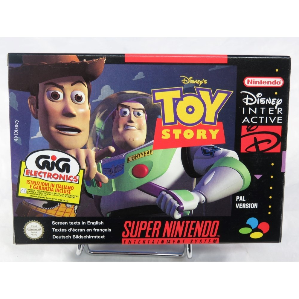 TOY STORY SNES PAL-EURO NEW