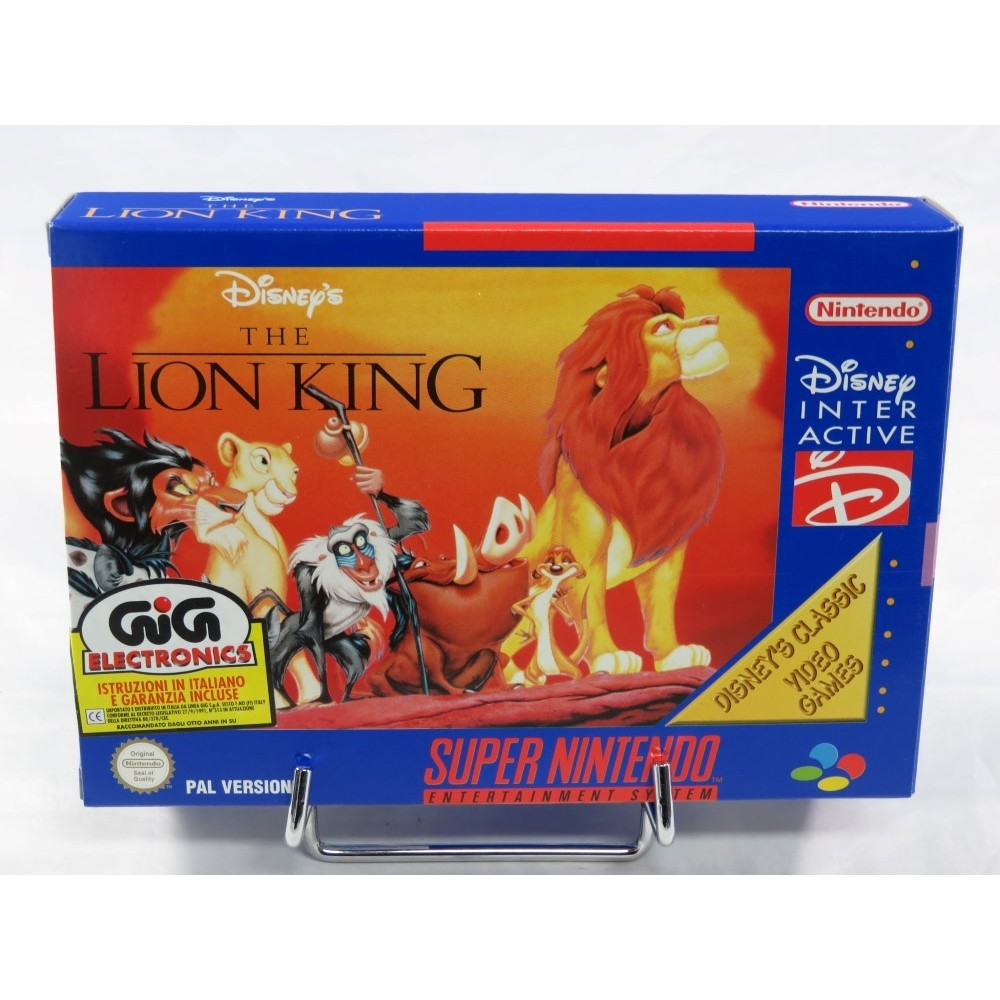 THE LION KING SNES PAL-ITA NEW