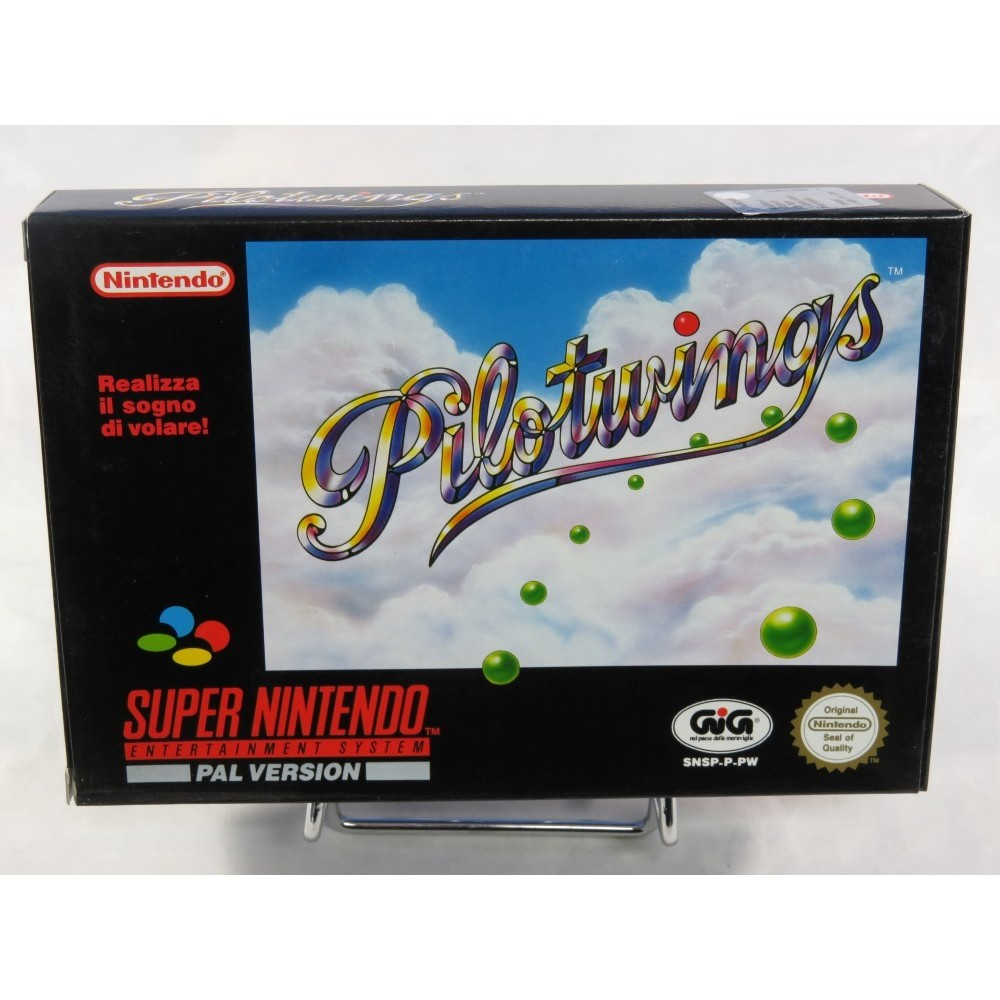 PILOTWINGS SNES PAL-ITA NEW