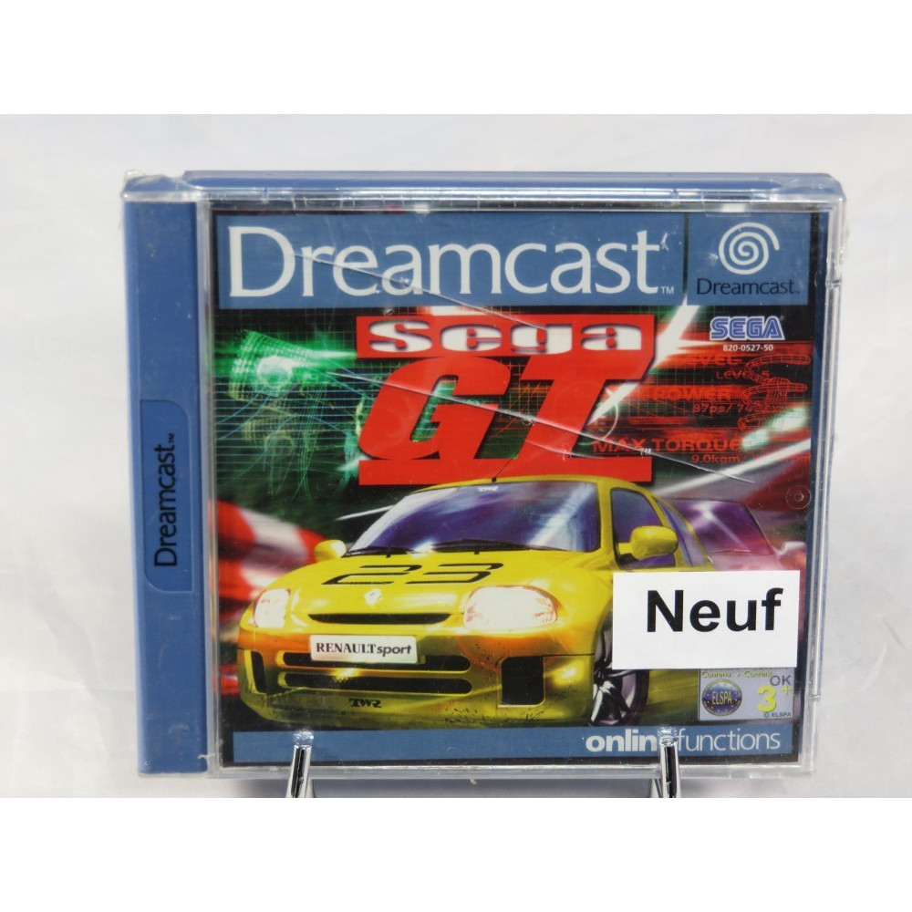 SEGA GT DREAMCAST PAL-EURO FR NEW