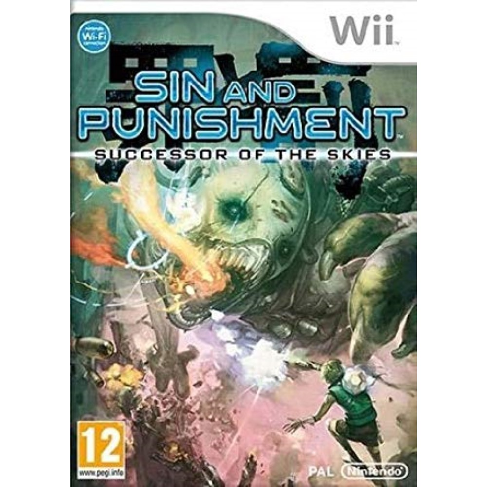 SIN & PUNISHMENT 2 SUCCESSOR TO THE SKIES WII UK NEW