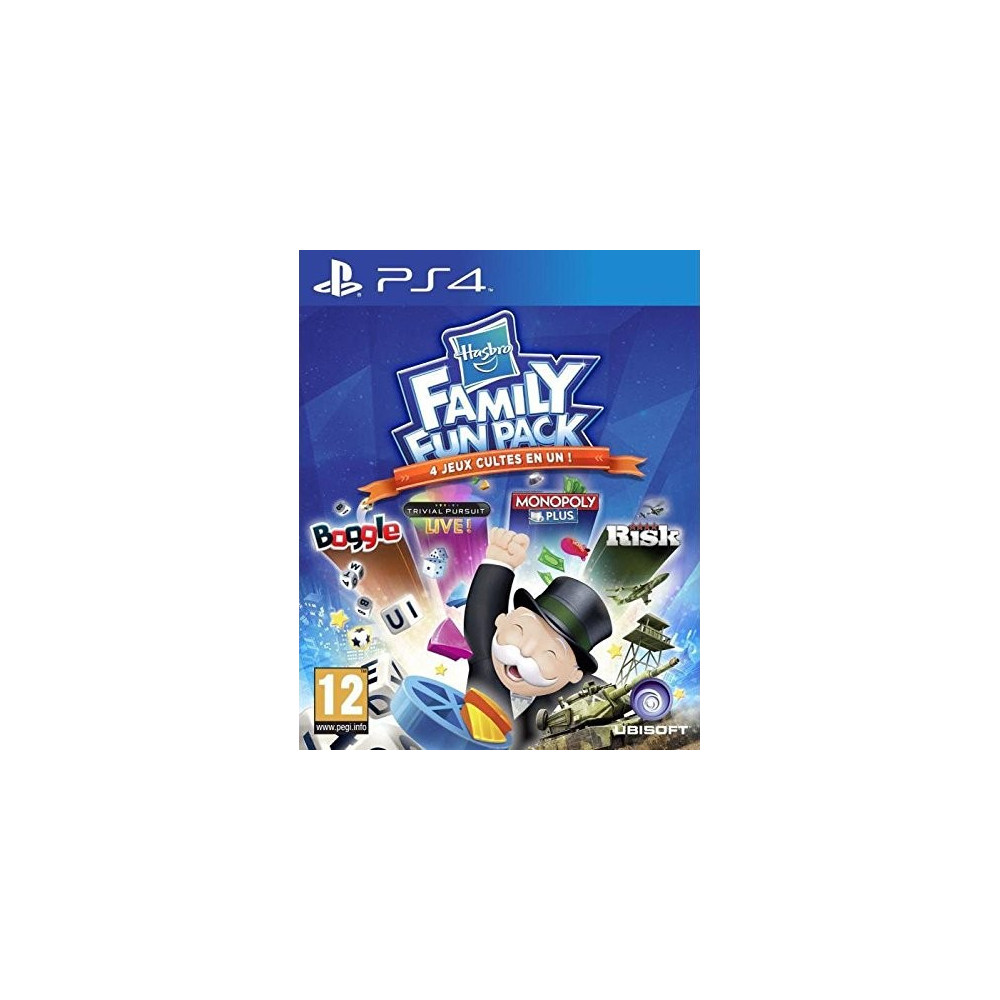HASBRO FAMILY FUN PACK PS4 VF