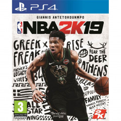 NBA 2K19 PS4 EURO FR OCCASION