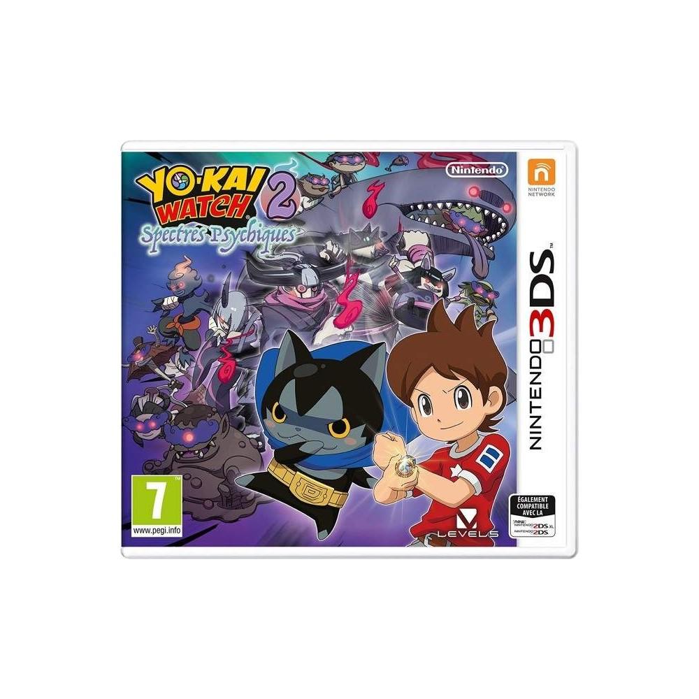 YO-KAI 2 PSYCHIC SPECTERS 3DS UK OCCASION