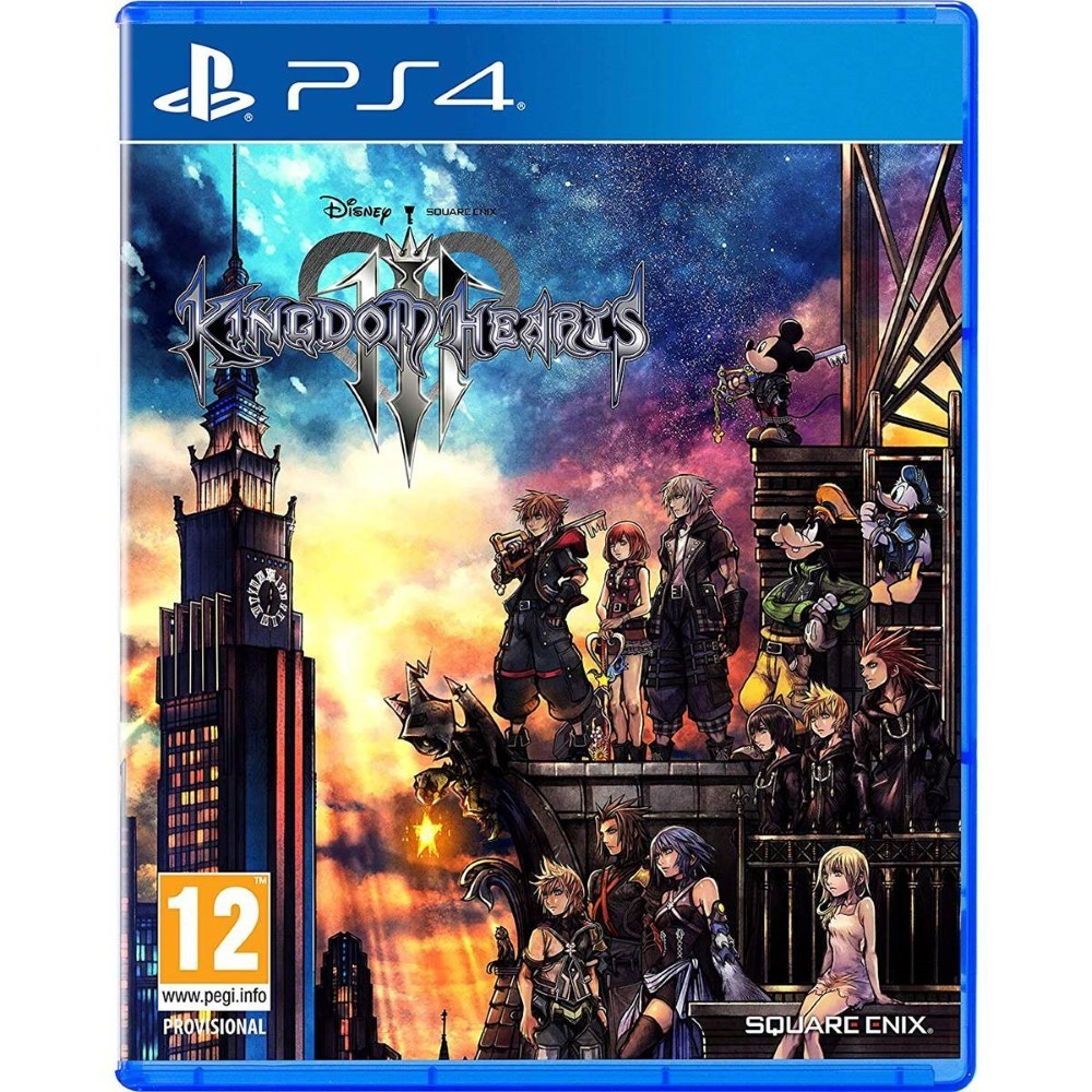 KINGDOM HEARTS 3 PS4 FR OCCASION